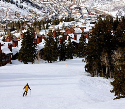GOING PARALLEL AT THE SKI RESORTS OF PARK CITY UTAH