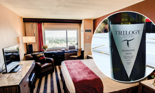 Wine and Stay Package