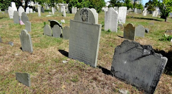Support Spirits Alive and Gravestone Conservation: Take a Walking Tour of Portland's Eastern Cemetery