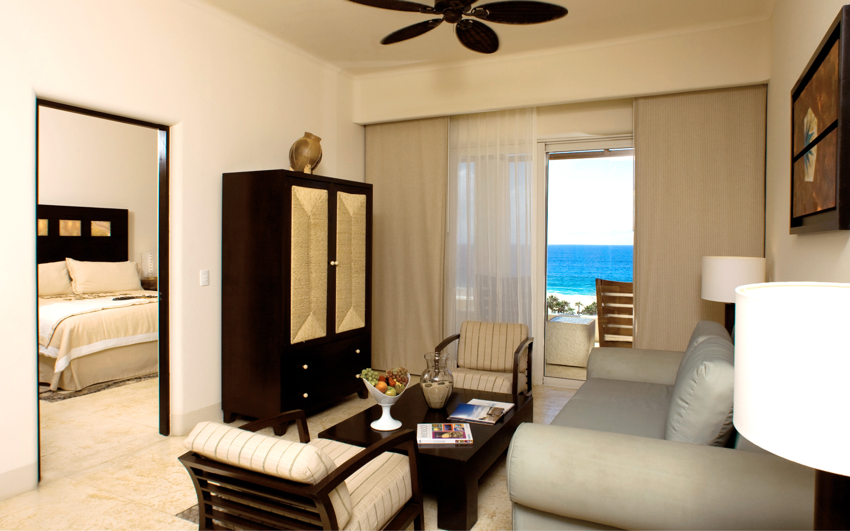 Rooms and suites cabo san lucas pueblo bonito pacifica for The family room pacifica