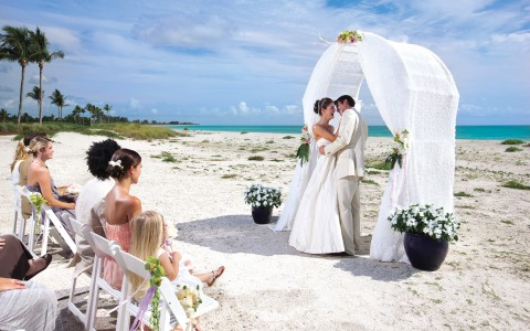 Getting Married on Beach