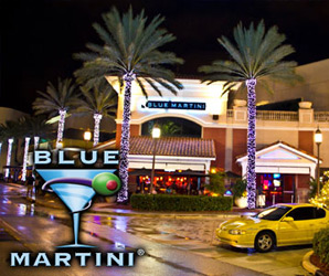 Blue Martini Bar in Ft lauderdale