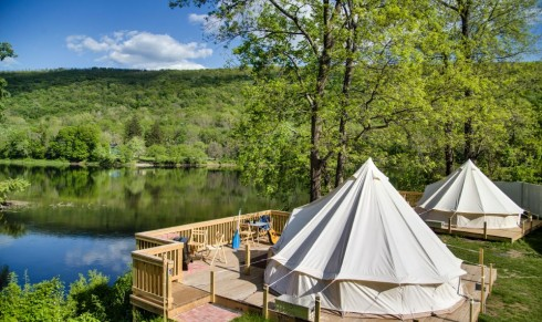 Riverside Glamping - NEW
