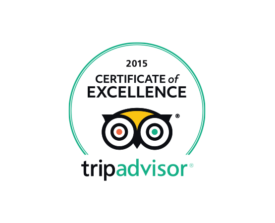 SHORE Images Footer TripAdvisor Excellence 2015