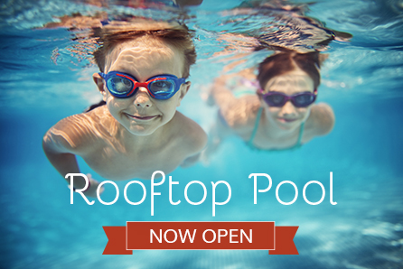 Rooftop Pool Now Open