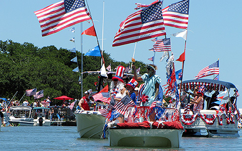Murrells Inlet 4th of July Boat Parade