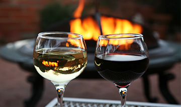 The Collector Inn Benefits Outdoor fire pits