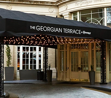 the georgian terrace contact us
