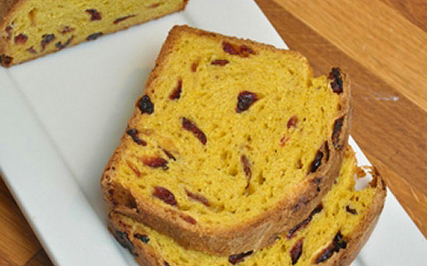 The Marc Restaurant Recipe: Marcus Whitman Hotel's Pumpkin-Cranberry Brioche
