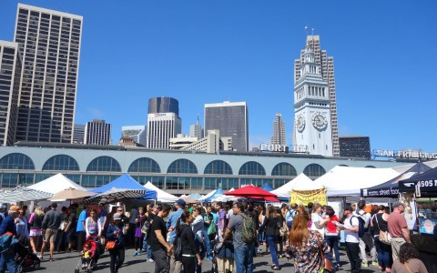 Celebrate National Organic Harvest Month at the Ferry Plaza Farmers Market