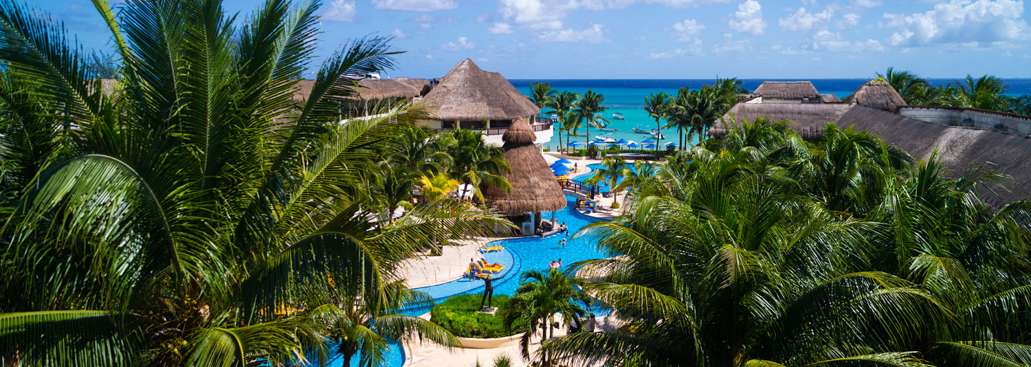An All-Inclusive Resort in Playa del Carmen