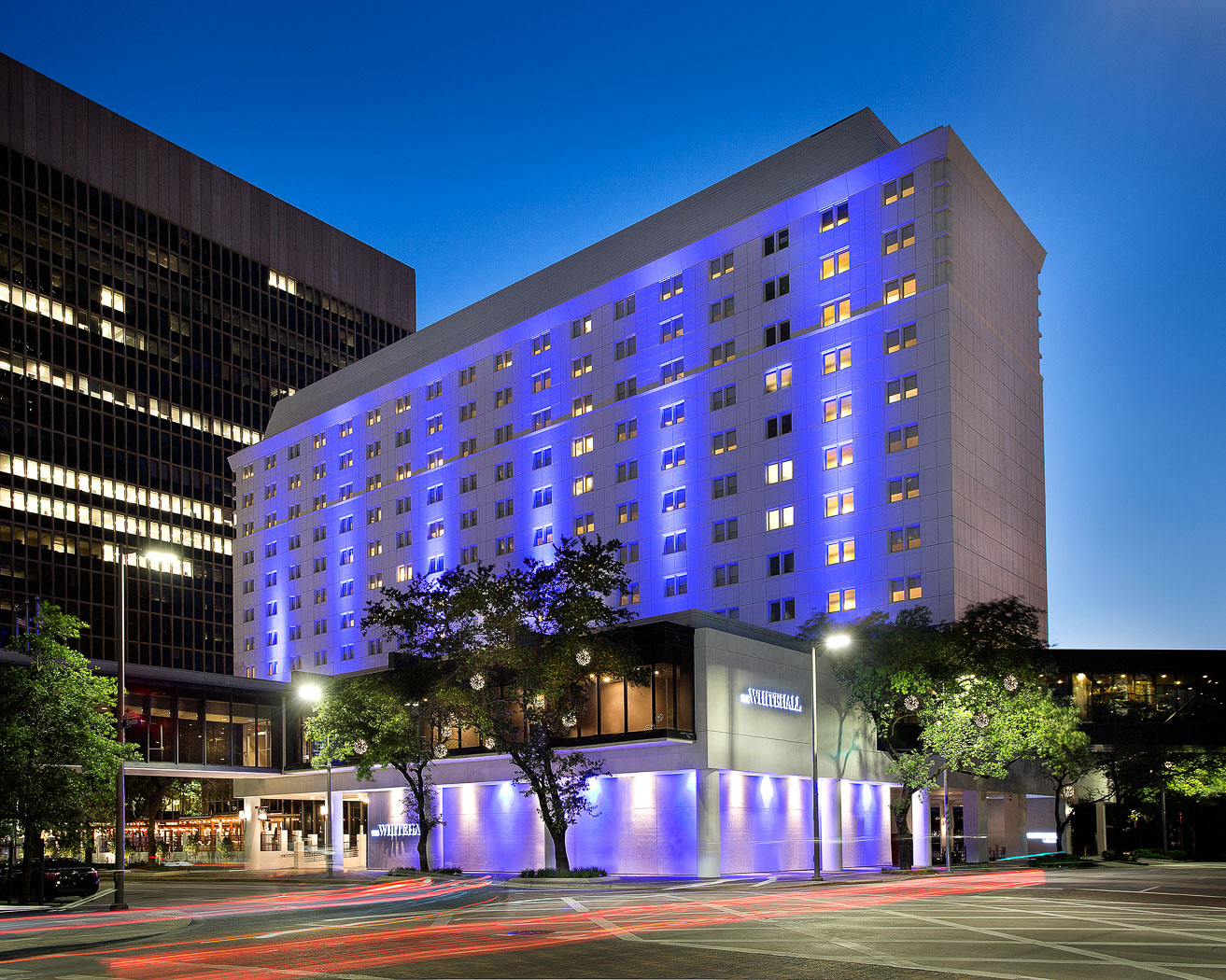 The Whitehall Hotel Downtown Houston Hotels Official Hotel Website - Map of houston hotels downtown