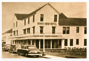 After Managing The Hotel From 1930 31 Fred Tyron Purchased Barber In 1936 Changing Name To Riverview