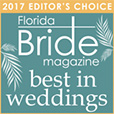 Florida Bride Magazine - Editor's Choice