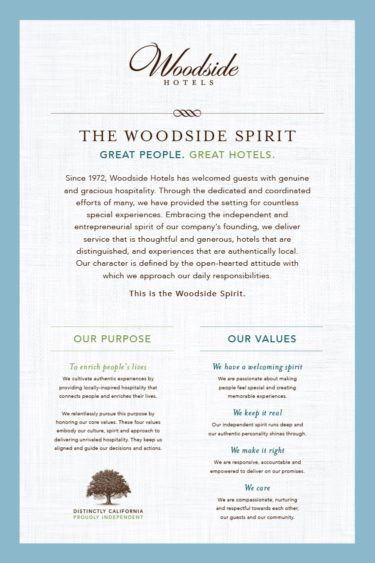 The Woodside Spirit