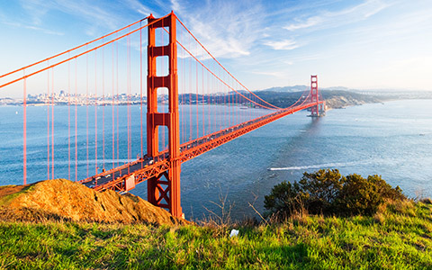 The Golden Gate Bridge (San Francisco)
