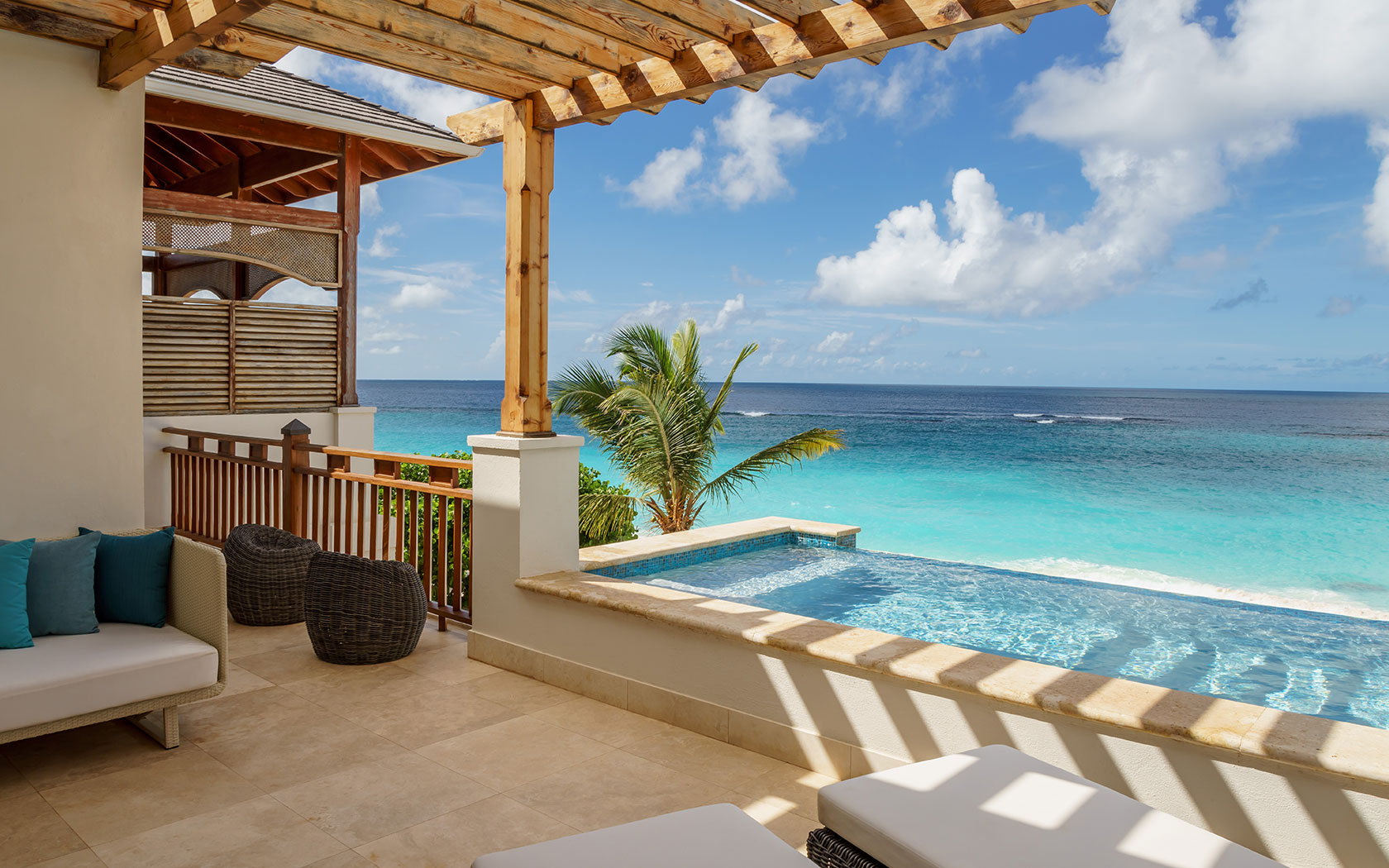Beachfront Villa Suite with Two Bedrooms