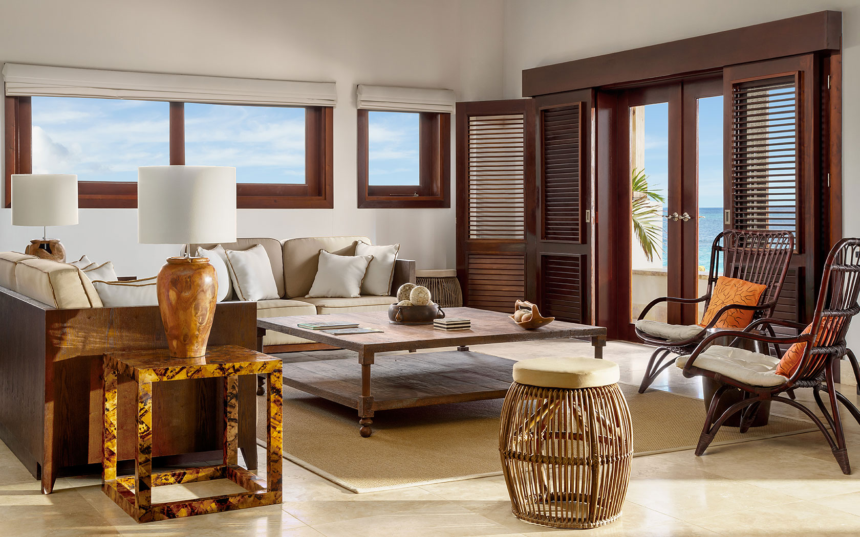 Beachfront Villa Suite with Three Bedrooms